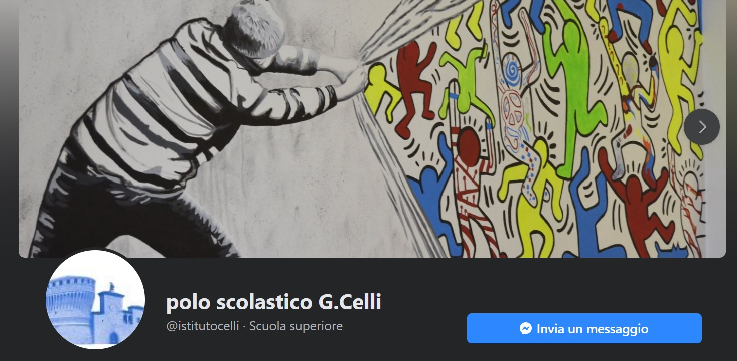 Facebook Polo Scolastico G.Celli